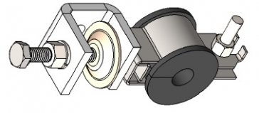 Radio Cable Clamps (Rotary)